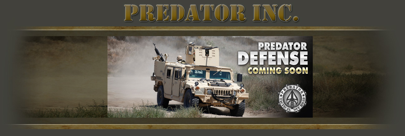 Predator Motorsports Defense Products